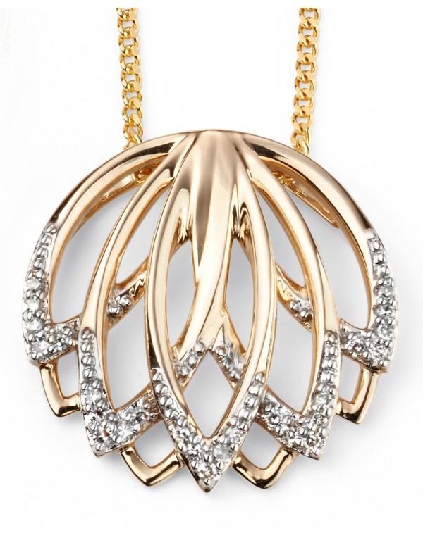 2278 mon bijou d2030 collier tendance diamant en or. Black Bedroom Furniture Sets. Home Design Ideas