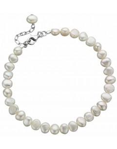 Mon-bijou - D2947 - Bracelet perle d'eau douce en argent 925/1000
