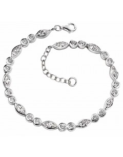 Mon-bijou - D3093 - Bracelet zirconia en argent 925/1000