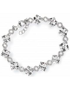 Mon-bijou - D3489 - Bracelet zirconia en argent 925/1000