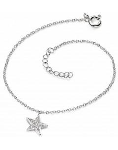 Mon-bijou - D4230 - Bracelet étoile en argent 925/1000