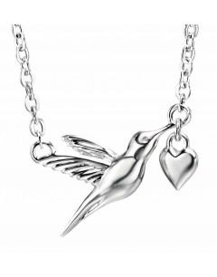 Collier colibri en argent 925/1000