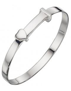 Mon-bijou - D4667 - Bracelet coeur en argent 925/1000
