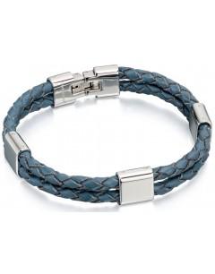 Mon-bijou - D4213 - Bracelets chic cuire en acier inoxydable