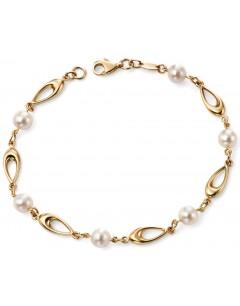 Mon-bijou - D416 - Bracelet tendance perle en Or 375/100