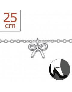 Mon-bijou - H6034z - Chaîne cheville en argent 925/1000