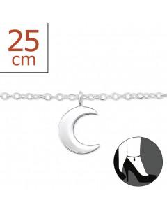 Mon-bijou - H6446z - Chaîne cheville en argent 925/1000