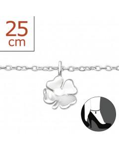 Mon-bijou - H6559z - Chaîne cheville en argent 925/1000