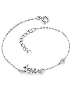 Mon-bijou D4636c - Bracelet love en argent 925/1000