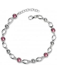 Mon-bijou - D4454 - Bracelet en cristal de Swarovski en argent 925/1000
