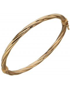 Mon-bijou - D450e - Superbe bracelet torsadée en Or 375/1000