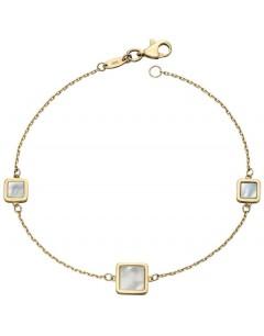 Mon-bijou - D451a - Superbe bracelet nacre en Or 375/1000