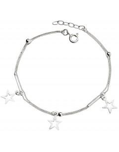 Mon-bijou - D4896 - Bracelet étoiles en argent 925/1000