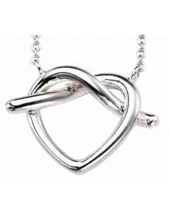 Mon-bijou - D4109 - Collier cœur en argent 925/1000
