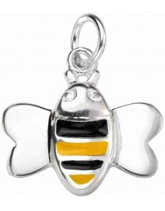 Mon-bijou - D4500 - Collier petite abeille en argent 925/1000