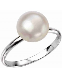 Mon-bijou - D3520 - Bague tendance perle en argent 925/1000