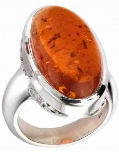 Mon-bijou - D3531 - Superbe Bague ambre en argent 925/1000