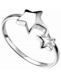 Mon-bijou - D3541 - Bague tendance étoiles en argent 925/1000