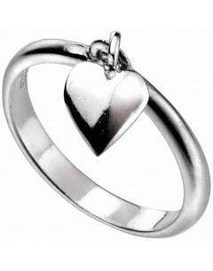 Mon-bijou - D3545 - Bague cœur tendance en argent 925/1000