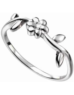 Mon-bijou - D3546a - Bague fleur original en argent 925/1000