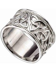Mon-bijou - D3606 - Bague chic celtique en argent 925/1000