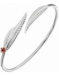 Mon-bijou - D5143 - Bracelet originale feuilles en argent 925/1000