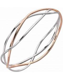 Mon-bijou - D5144a - Bracelet chic et original plaqué Or rose en argent 925/1000