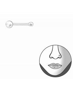 Mon-bijou - H31482 - Lot de 2 Piercing en argent 925/1000