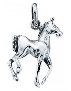Collier cheval en argent 925/1000