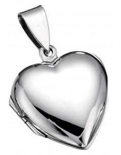 collier coeur en argent 925/1000