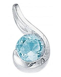 Mon-bijou - D532 - Collier zirconium en argent 925/1000