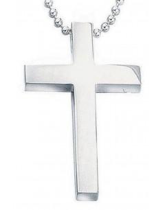 Mon-bijou - D748 - Collier croix en argent 925/1000
