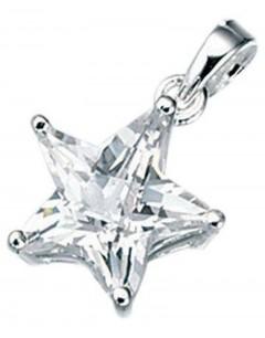 Collier étoile en argent 925/1000