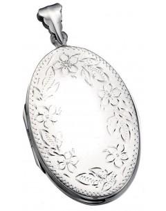 Collier pendentif photo en argent 925/1000