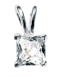 Mon-bijou - D2658 - Collier zirconium en argent 925/1000