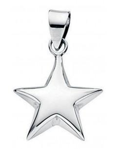 Mon-bijou - D2698 - Collier étoile en argent 925/1000