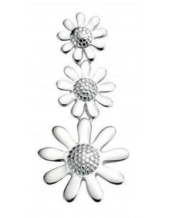 Mon-bijou - D2901 - Collier fleur en argent 925/1000