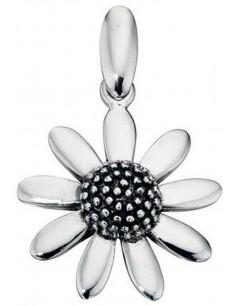 Mon-bijou - D3147 - Collier fleur en argent 925/1000