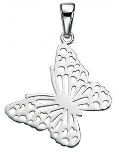 Mon-bijou - D3479c - Collier papillon en argent 925/1000