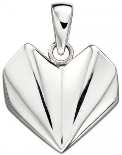 Mon-bijou - D3904 - Collier coeur en argent 925/1000
