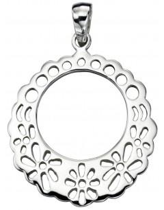 Mon-bijou - D3909 - Collier motifs en argent 925/1000