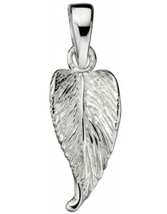 Mon-bijou - D3915 - Collier feuille en argent 925/1000