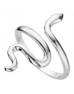 Mon-bijou - D2982 - Bague serpent en argent 925/1000