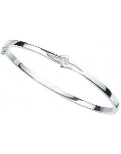 Bracelet chic zirconia en argent 925/1000