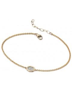 Mon-bijou - D406 - Bracelet Diamant en Or 375/1000 carats