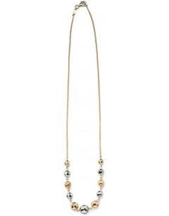 Collier en Or blanc et Or 375/1000 carats