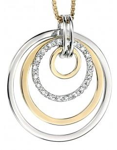 Collier diamant en Or blanc et Or 375/1000 carats