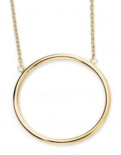 Mon-bijou - D224a - Collier cercle en Or 375/1000