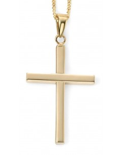 Mon-bijou - D942a - Collier croix en Or 375/1000