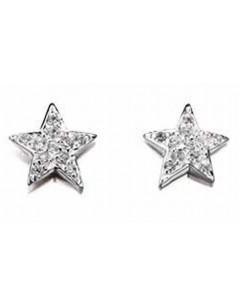 Mon-bijou - D4078 - Boucle d'oreille étoiles en argent 925/1000